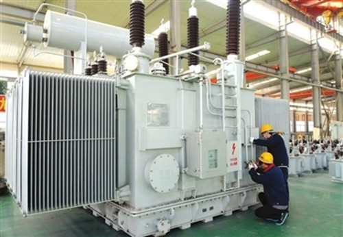 世界首台110kv立体卷铁心节能变压器在邯郸高晶电气