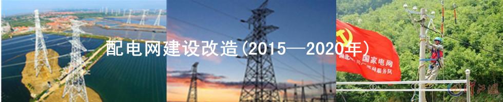 2015—2020年全国配电网建设改造专题报道